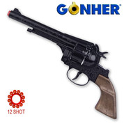 Colt Navy Black Metal Cap Gun 25cm