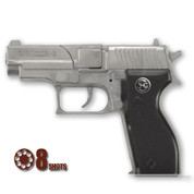 Officer Pistol Die Cast Cap Gun