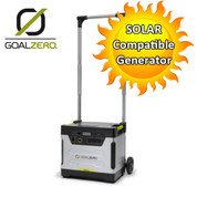 Goal Zero Yeti 1250 Solar Generator with Roll Cart- 230v