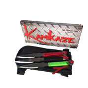 Van Diemens Land Kamikaze 3 Set Throwing Knives