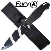Sea Camouflage Tactical Knife