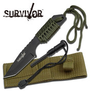 Survivor Tanto Knife w Firestarter