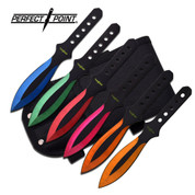 Assorted Colours Throwing Knife Set
