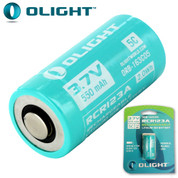 Olight 16340/RCR123A Lithium Torch Battery - IMR 550