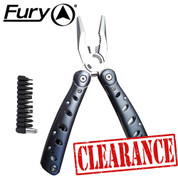 Fury Aluminium Multi Tool & Pouch - No Box