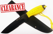 Fury Outback Knife with Fluro Yellow Cord - No Box