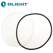Replacement Glass  Lens for Olight M2X/M3XS Torches