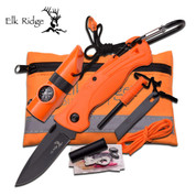 Elk Ridge Orange Survival Kit