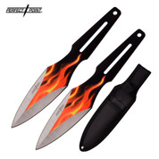 Fire Flame Blade Throwing Knives