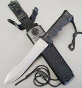Black Recon Survival Knife - No Box