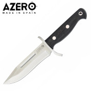 Azero Ebony Wood Hunting Knife, 260mm