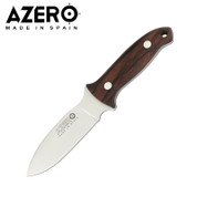 Azero Ebony Wood Hunting Stainless Knife 210mm