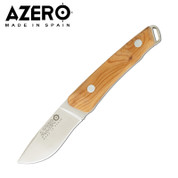 Azero Yew Wood Handle Hunting Knife 205mm