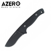 Azero HDM Black Handle Tactical Knife with Molle Sheath 230mm