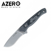 Azero Micarta Handle Steel Knife with Molle Sheath 230mm
