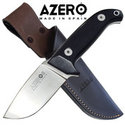 Azero Ebony Wood Hunting Knife 230mm