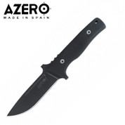 Azero HDM Black Stainless Tactical Knife with Molle Sheath 240mm