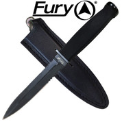 Midnight Rubber Grip Knife