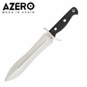 Azero Ebony Wood Hunting Stainless Knife 375mm
