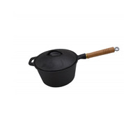 3 Quart Cast Iron Saucepan