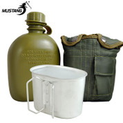 Mustang 1QT GI Canteen with Cup & Olive Drab Cover