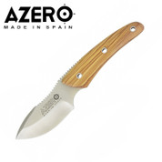 Azero Skinner Knife with Olive Wood Handle - 190mm