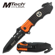 MTech Emergency Services Folding Knife