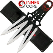 Inner Core - Skull Throwing Knives 3pc