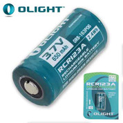 Olight RCR123A Lithium Torch Battery