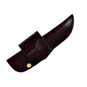 USA Brown leather knife sheath 120mm