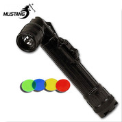Black Military Angle Head Torch - AA