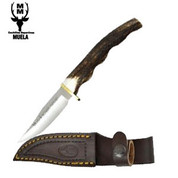 Muela Stag Handle Knife with Sheath
