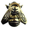 Solid Brass Bee Door Knocker