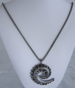 Koru Diamantie  Necklace