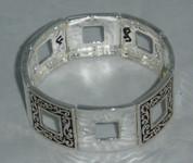 Silver Stretch Bracelet 64