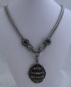 Multi Oval Bead Necklace