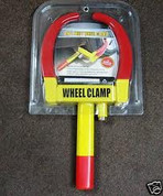 Trailer  Wheel clamp