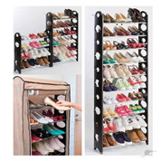 Shoe Rack  10 Tiers Shoe Rack with cover