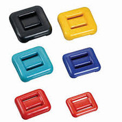 Dive weights 2KG Rubber Coated