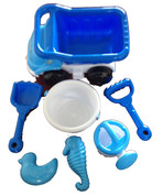 Beach Toy set / Truck and Bucket 7 Piece