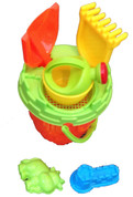 Bucket and Spade Beach Toy Set / 6 Piece
