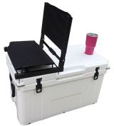 Chilly Bin Cooler Box 78L White and Seat