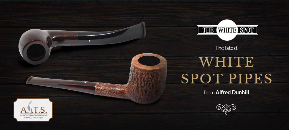 White Spot Tobacco Pipes