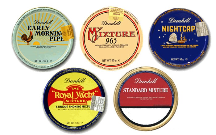 Dunhill Pipes - Tobacco care guide