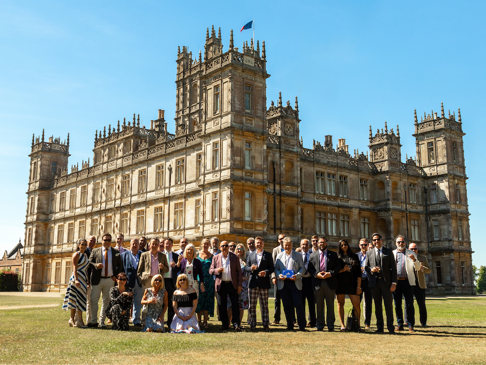 Highclere Castle Cigars Visit