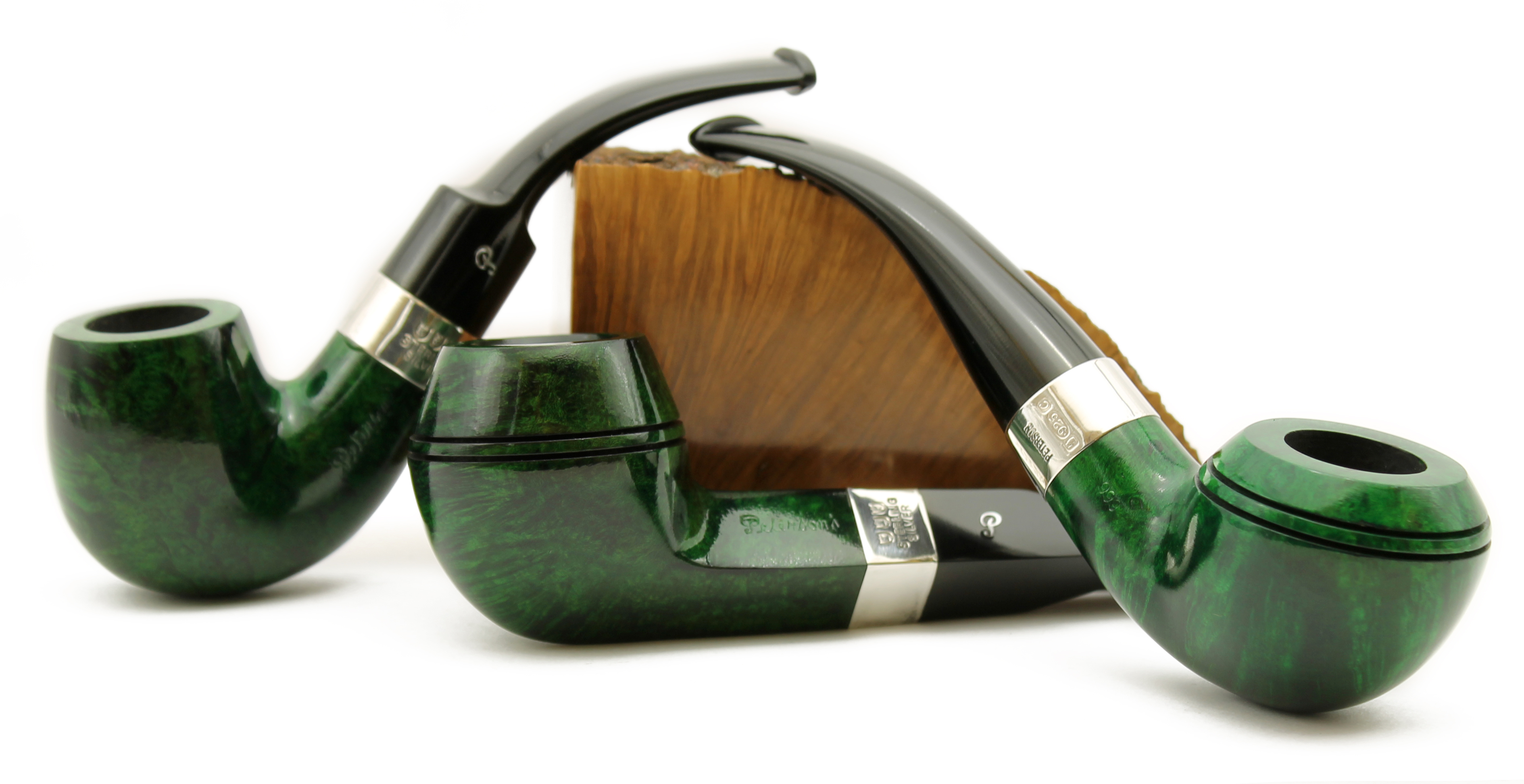 Peterson Racing Green Pipes