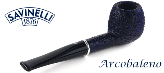 Savinelli Arcobaleno Pipes at GQTobaccos