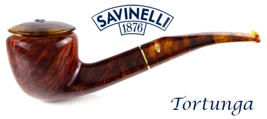 Savinelli Tortunga Pipes at GQTobaccos