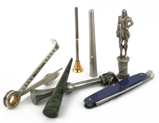 Pipe Tools, Tampers, Reamers and Smokers Knives