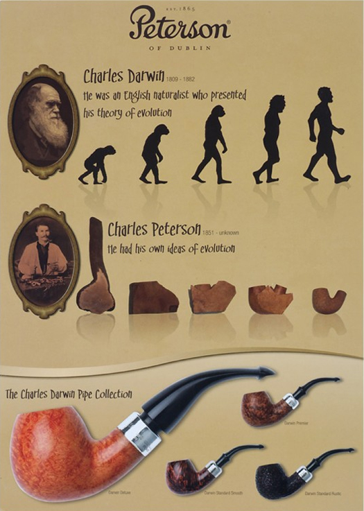 The Peterson Charles Darwin Collection B45 Advert